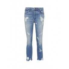 3x1 'W4 Collette Crop' bleached distressed cuff skinny jeans CHEUKXM Women Jeans 211165098