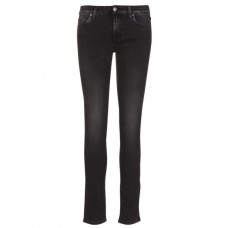 7 FOR ALL MANKIND Slim-fit jeans with regular waist Black LUXE REBEL Women Jeans DKPBMHO JSL4A220LT-PYPER SLIM ILLUSION-LUXE REBEL-LUXE REBEL