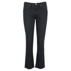 ACQUAVERDE Carades cropped flared jeans Blue BLUE BLACK Women Jeans LKQGTGU CARADES-BLUBA-BLUE BLACK