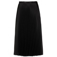 KARL MARC JOHN Pleated satin midi skirt Black NOIR Women Skirts WFJYUGH 1119-JOELLA-NOIR-NOIR