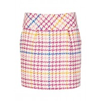 NAF NAF Short tweed puffball skirt FANTAISIE Women Skirts SRGNNUG JHNJ68AD-1756-FANTAISIE