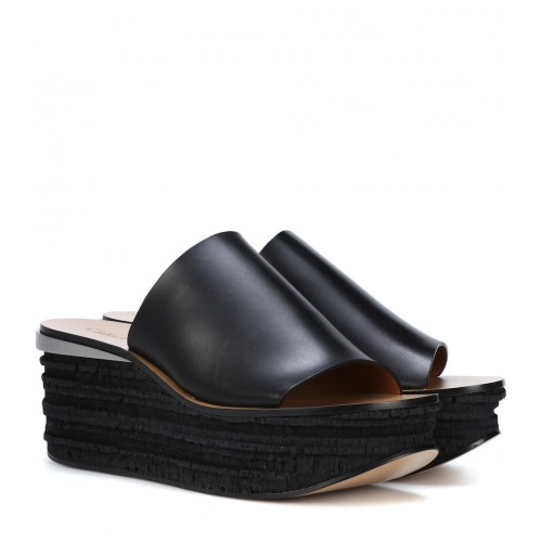 Chloé - Women Sandals Camille leather platform sandals item no.P00320436 ZAHUVXE