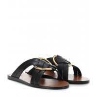 Chloé - Women Sandals Rony leather sandals item no.P00320430 BZNZRXS
