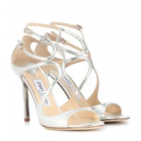 Jimmy Choo - Women Sandals Lang leather sandals item no.P00299314 JUALXKF