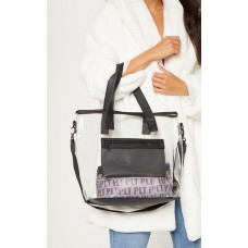 PrettyLittleThing Clear Tote | Accessories - Clear - Womens Jeans CLY6798