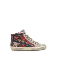 "Women Sneakers Golden Goose Deluxe Brand ""Slide"" sneakers in red tartan wool Multicolor - Al Duca D'Aosta Multicolor BXRYSLC 9000843015"