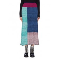3.1 Phillip Lim Colourblock patchwork rib knit skirt CGIZXTY Women Skirts 211168693