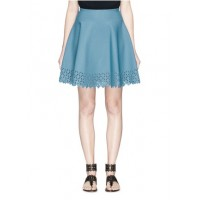 Alaïa Diamond cutout knit skirt RBYHUIW Women Skirts 211134222