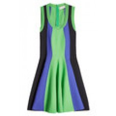 Fit and Flare Dress green 261075
