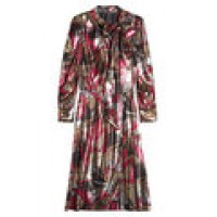 Marc Jacobs Printed Dress with Silk multicolored 264176