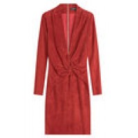 Suede Dress red 248329