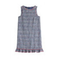 Tweed Dress blue 244777
