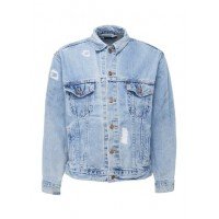 Atelier & Repairs Ripped denim jacket EMONDCN Men Jackets 211180542