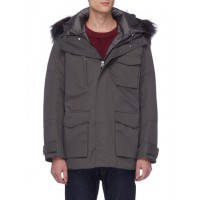 49Winters 'The Utility' fox fur hooded parka SSFBXKW Men Coats 211175431
