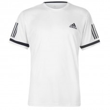 adidas adidas Club 3 Stripes T Shirt Mens YEZSXBS