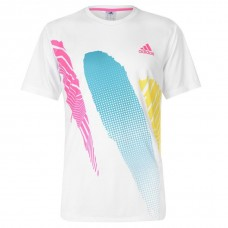 adidas adidas Seasonal Tennis T Shirt Mens NODFEJA