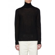 ACNE STUDIOS Norton立领美丽诺羊毛针织衫 MWALARO Men Knitwears & Sweatshirts