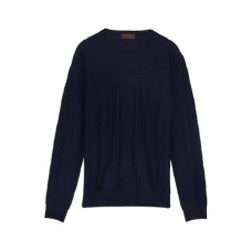 ALTEA 格纹初剪羊毛针织衫 MXYUGAR Men Knitwears & Sweatshirts
